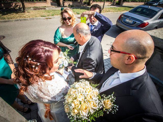 Il matrimonio di Melania e Luca a San Giovanni in Persiceto, Bologna 11