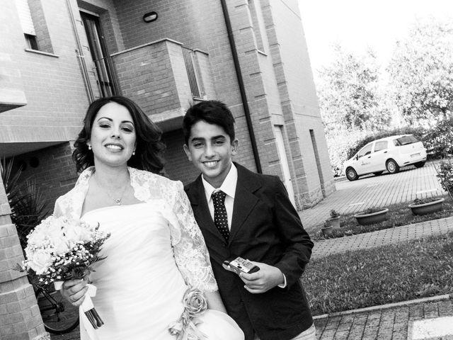 Il matrimonio di Melania e Luca a San Giovanni in Persiceto, Bologna 13