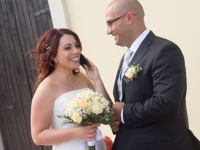 Le nozze di Luca e Melania
