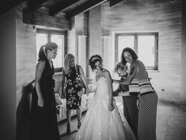 Il matrimonio di Alberto e Carolina a Barbania, Torino 28