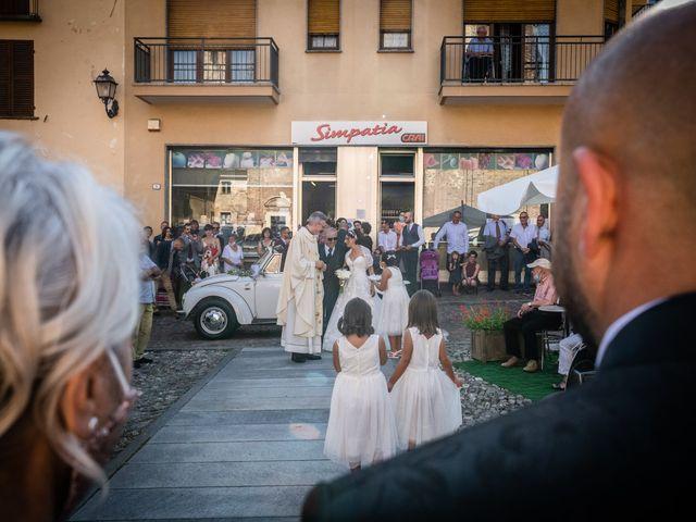 Il matrimonio di Alberto e Carolina a Barbania, Torino 39