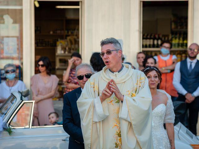 Il matrimonio di Alberto e Carolina a Barbania, Torino 41