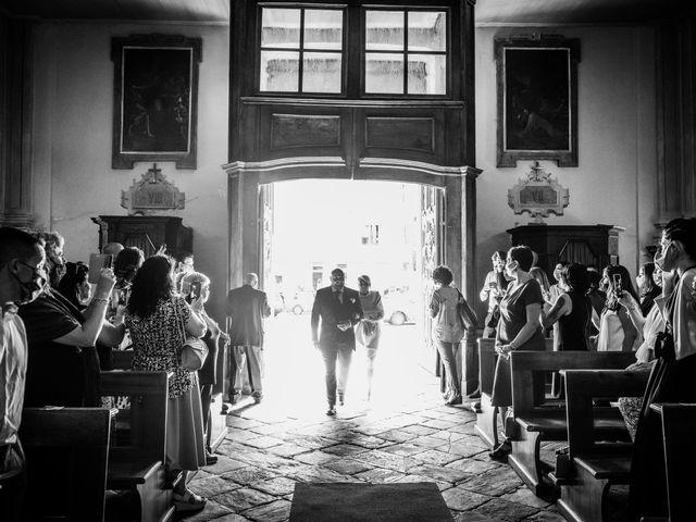 Il matrimonio di Alberto e Carolina a Barbania, Torino 42