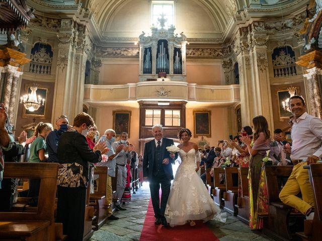 Il matrimonio di Alberto e Carolina a Barbania, Torino 45