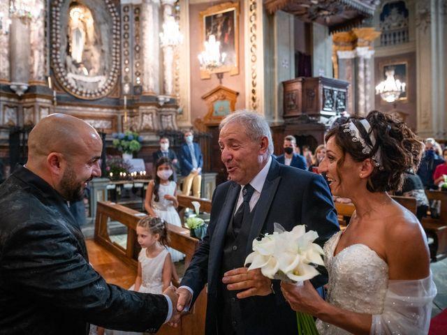 Il matrimonio di Alberto e Carolina a Barbania, Torino 46