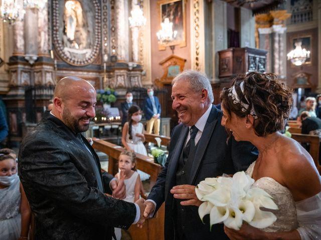 Il matrimonio di Alberto e Carolina a Barbania, Torino 47