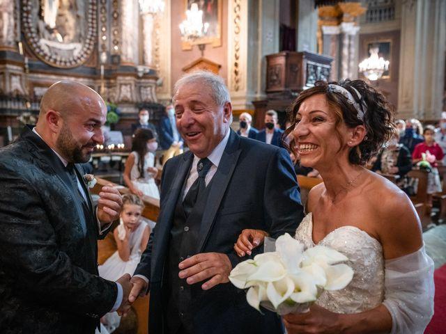 Il matrimonio di Alberto e Carolina a Barbania, Torino 48