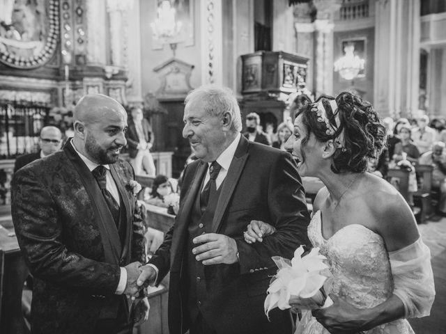 Il matrimonio di Alberto e Carolina a Barbania, Torino 50