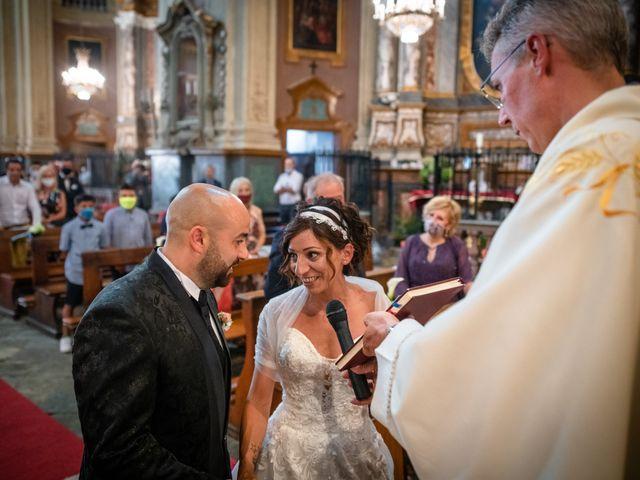 Il matrimonio di Alberto e Carolina a Barbania, Torino 54