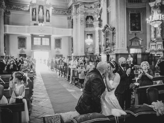 Il matrimonio di Alberto e Carolina a Barbania, Torino 55