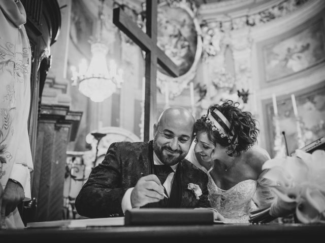 Il matrimonio di Alberto e Carolina a Barbania, Torino 57