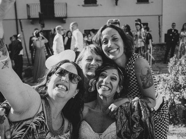 Il matrimonio di Alberto e Carolina a Barbania, Torino 60