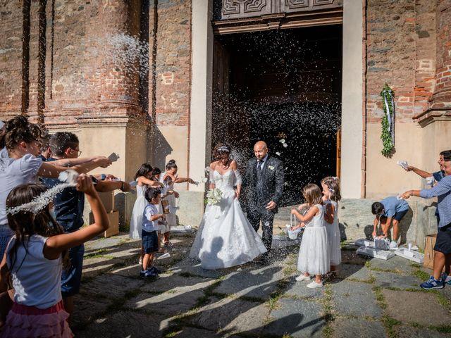 Il matrimonio di Alberto e Carolina a Barbania, Torino 61