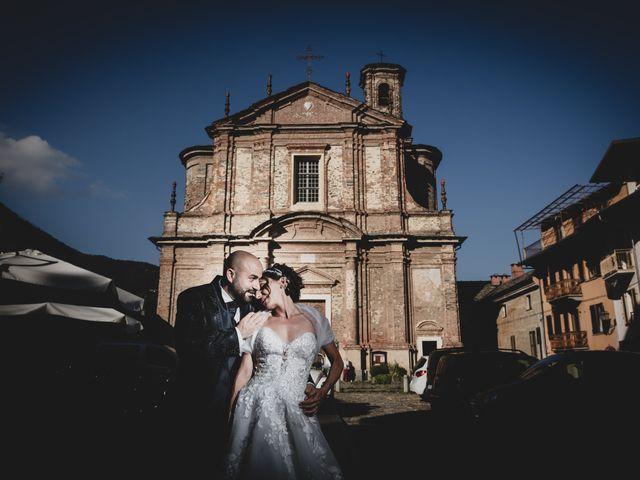 Il matrimonio di Alberto e Carolina a Barbania, Torino 1