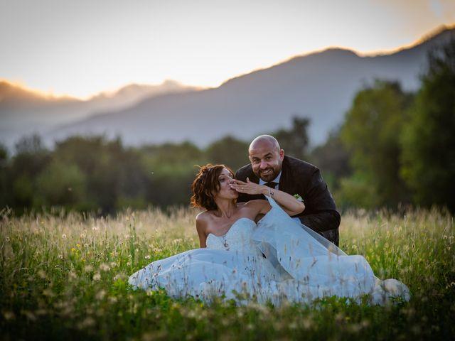 Il matrimonio di Alberto e Carolina a Barbania, Torino 90