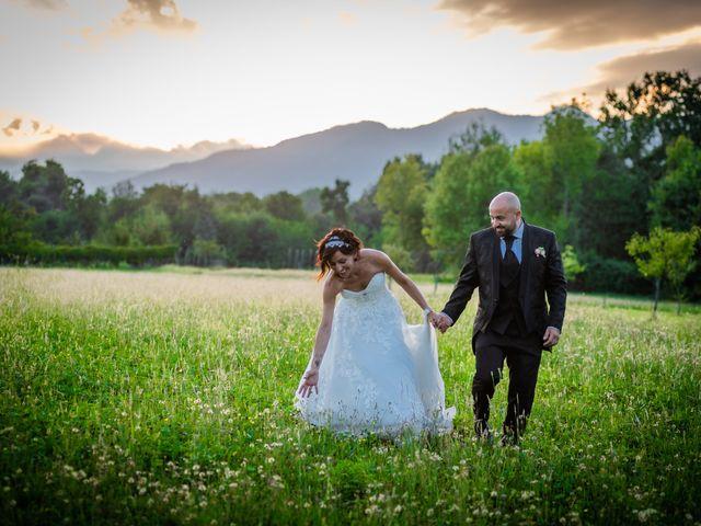Il matrimonio di Alberto e Carolina a Barbania, Torino 92