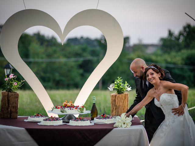 Il matrimonio di Alberto e Carolina a Barbania, Torino 94