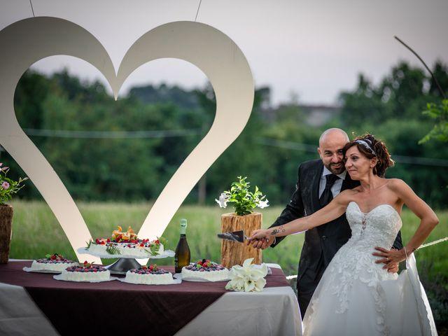 Il matrimonio di Alberto e Carolina a Barbania, Torino 96