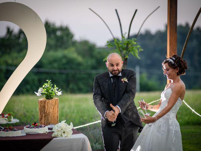 Il matrimonio di Alberto e Carolina a Barbania, Torino 97