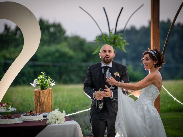 Il matrimonio di Alberto e Carolina a Barbania, Torino 98