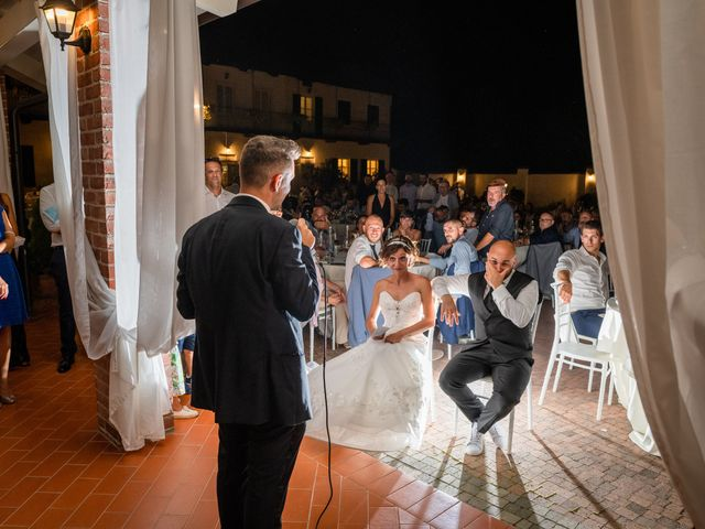 Il matrimonio di Alberto e Carolina a Barbania, Torino 108