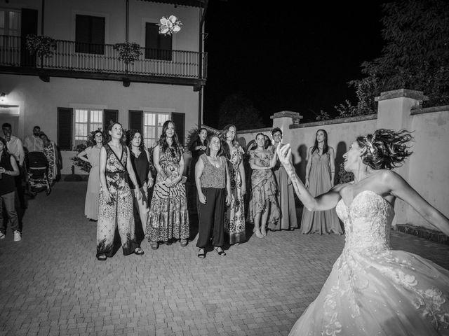 Il matrimonio di Alberto e Carolina a Barbania, Torino 114