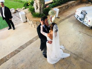 Le nozze di Melania e Maurizio