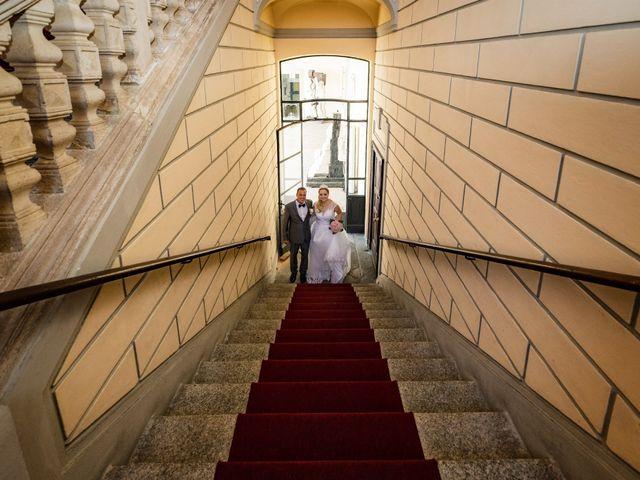 Il matrimonio di Angelo e Diana a Somma Lombardo, Varese 1