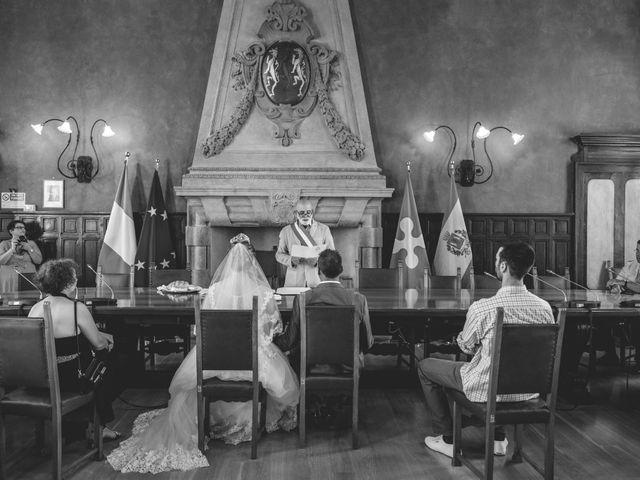 Il matrimonio di Angelo e Diana a Somma Lombardo, Varese 8