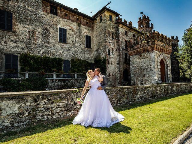 Il matrimonio di Angelo e Diana a Somma Lombardo, Varese 33
