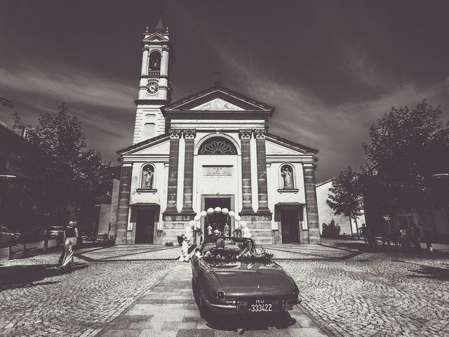 Il matrimonio di Davide e Francesca a Pella, Novara 25