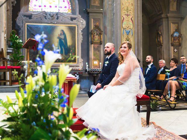 Il matrimonio di Davide e Francesca a Pella, Novara 30