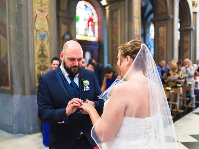 Il matrimonio di Davide e Francesca a Pella, Novara 34