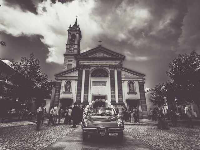 Il matrimonio di Davide e Francesca a Pella, Novara 40