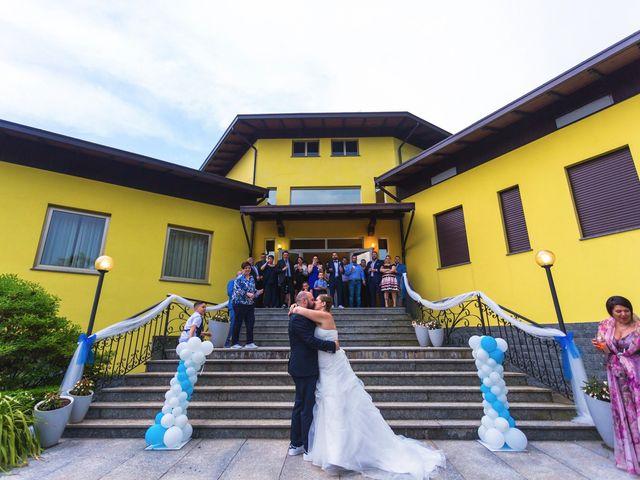 Il matrimonio di Davide e Francesca a Pella, Novara 49