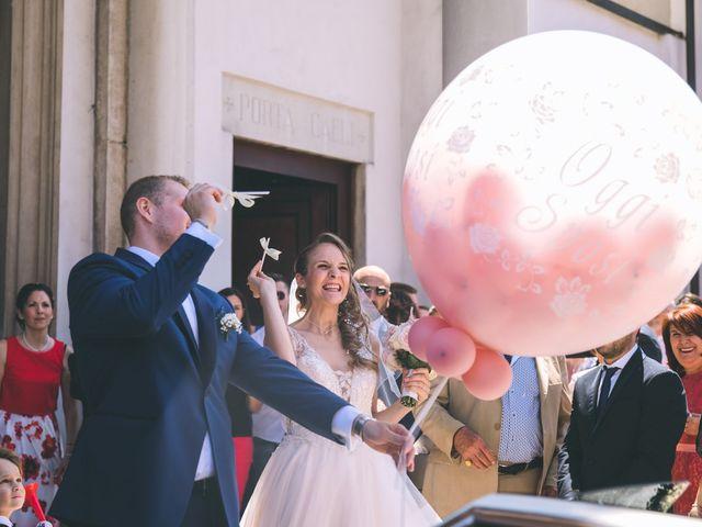 Il matrimonio di Luca e Samantha a Saronno, Varese 80