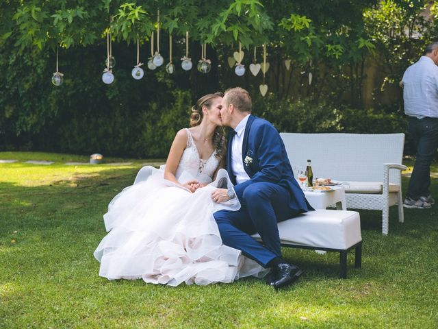 Il matrimonio di Luca e Samantha a Saronno, Varese 115