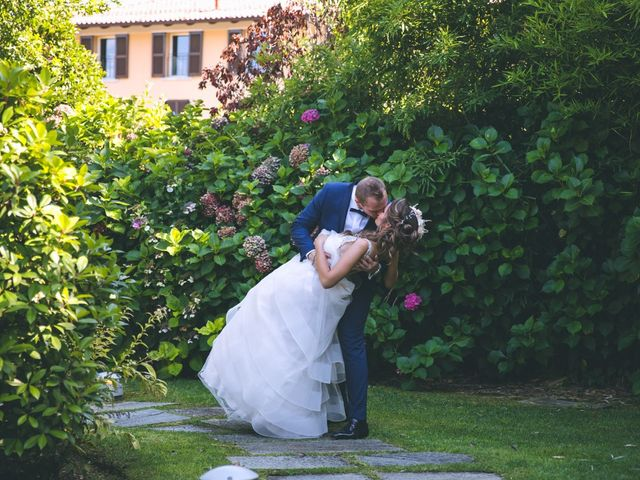 Il matrimonio di Luca e Samantha a Saronno, Varese 136