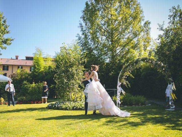 Il matrimonio di Luca e Samantha a Saronno, Varese 141
