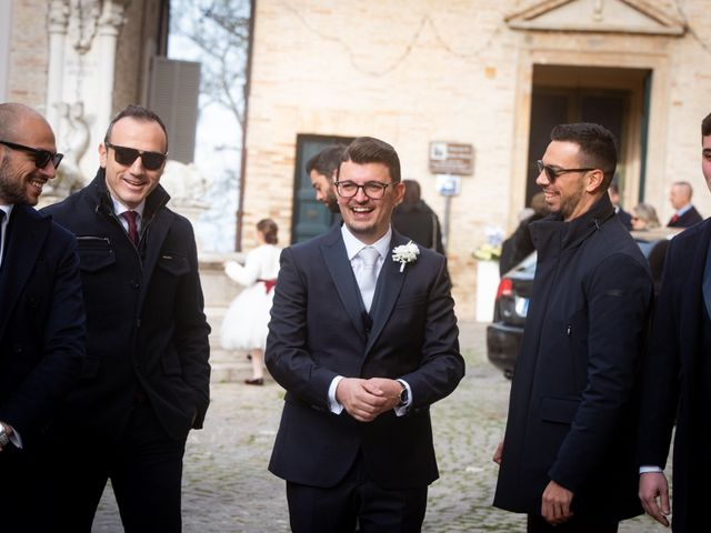 Il matrimonio di Alberto e Federica a Lapedona, Fermo 5