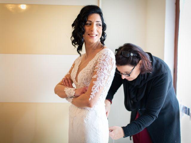 Il matrimonio di Alberto e Federica a Lapedona, Fermo 16