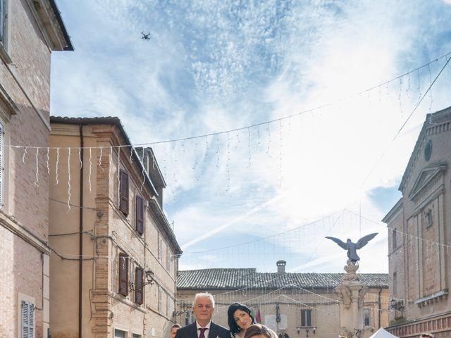 Il matrimonio di Alberto e Federica a Lapedona, Fermo 23