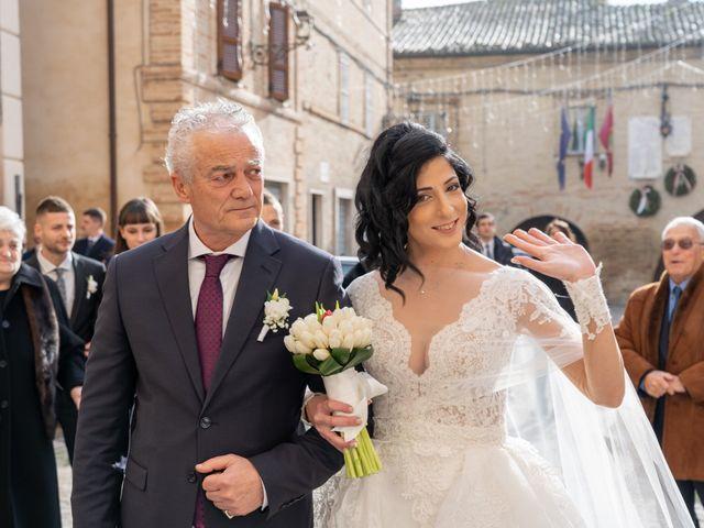 Il matrimonio di Alberto e Federica a Lapedona, Fermo 24