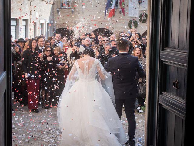 Il matrimonio di Alberto e Federica a Lapedona, Fermo 31