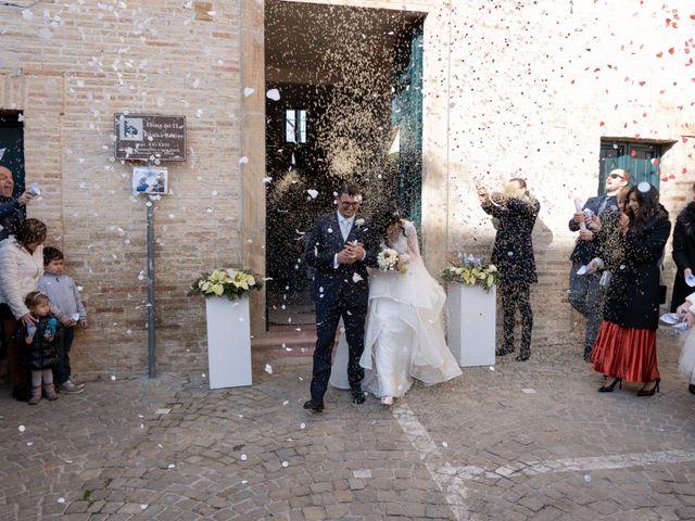 Il matrimonio di Alberto e Federica a Lapedona, Fermo 32