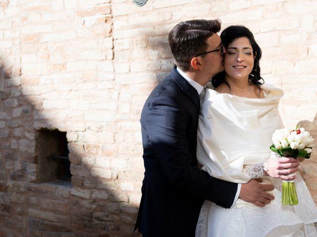 Il matrimonio di Alberto e Federica a Lapedona, Fermo 33