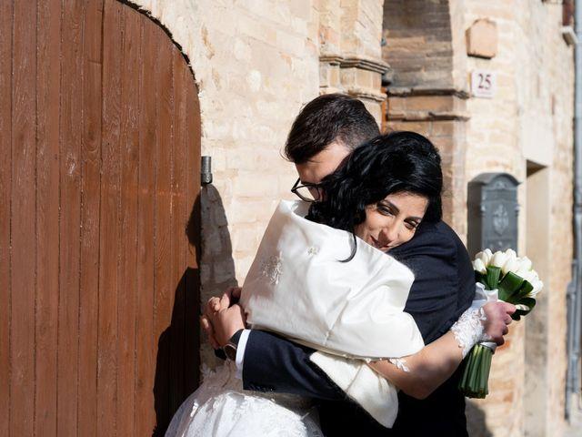 Il matrimonio di Alberto e Federica a Lapedona, Fermo 34