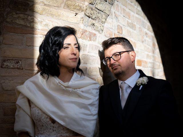 Il matrimonio di Alberto e Federica a Lapedona, Fermo 35