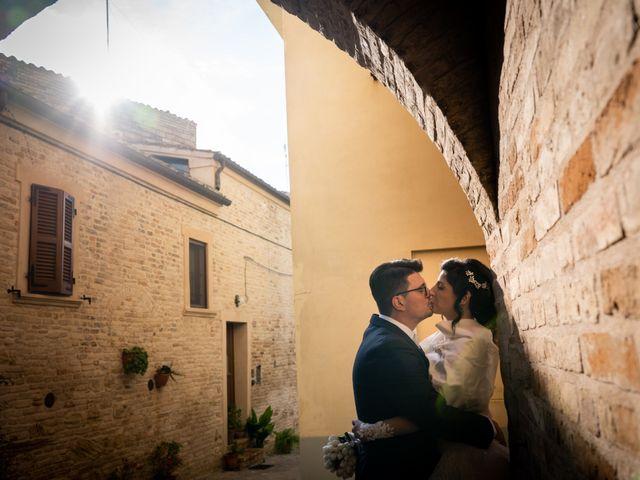Il matrimonio di Alberto e Federica a Lapedona, Fermo 37