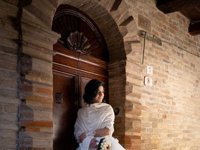 Il matrimonio di Alberto e Federica a Lapedona, Fermo 40